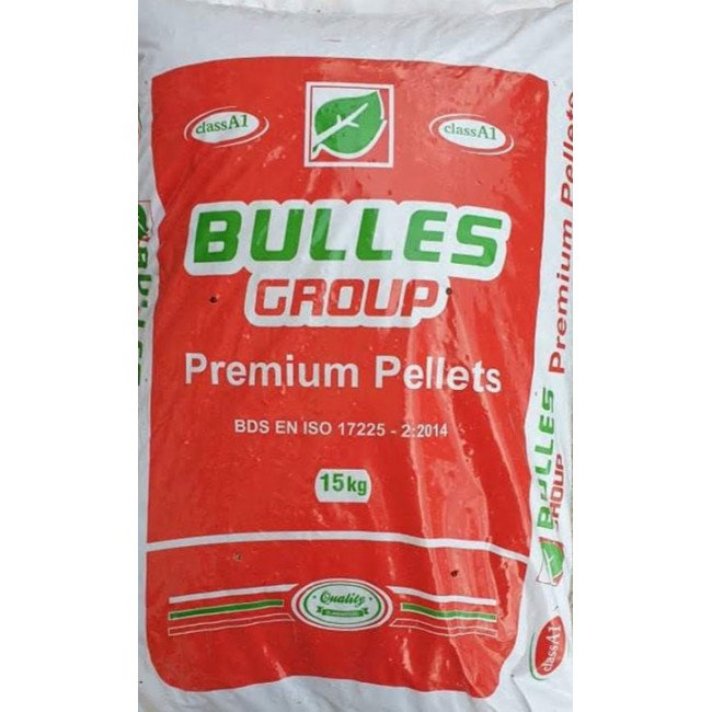 Пелети Bulles Premium 15кг
