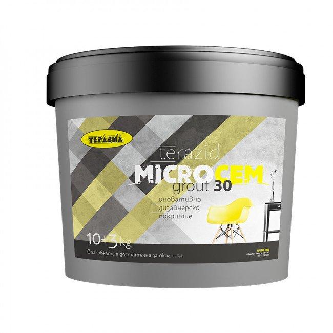 Micro Cem – иновативно дизайнерско покритие grout 30