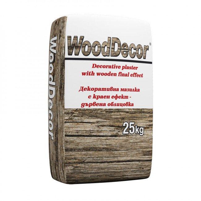 Wood Dеcor – декоративна мазилка с дървен краен ефект