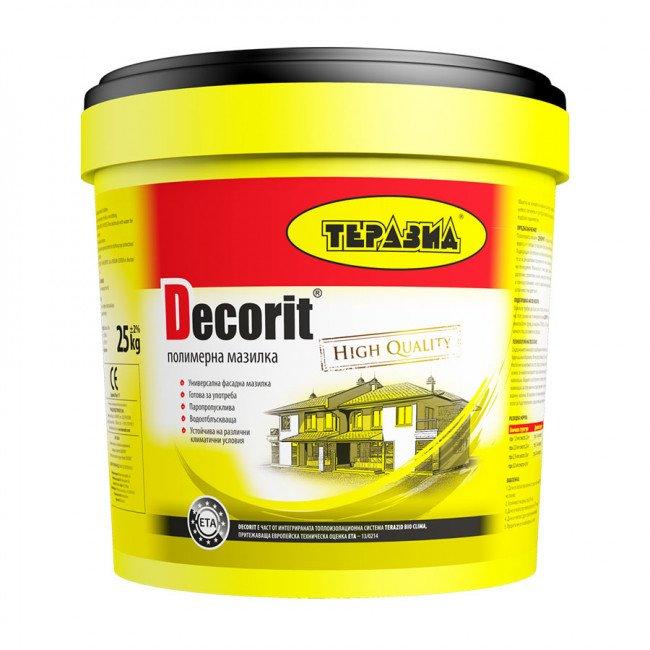 Decorit – готова пастообразна полимерна мазилка B