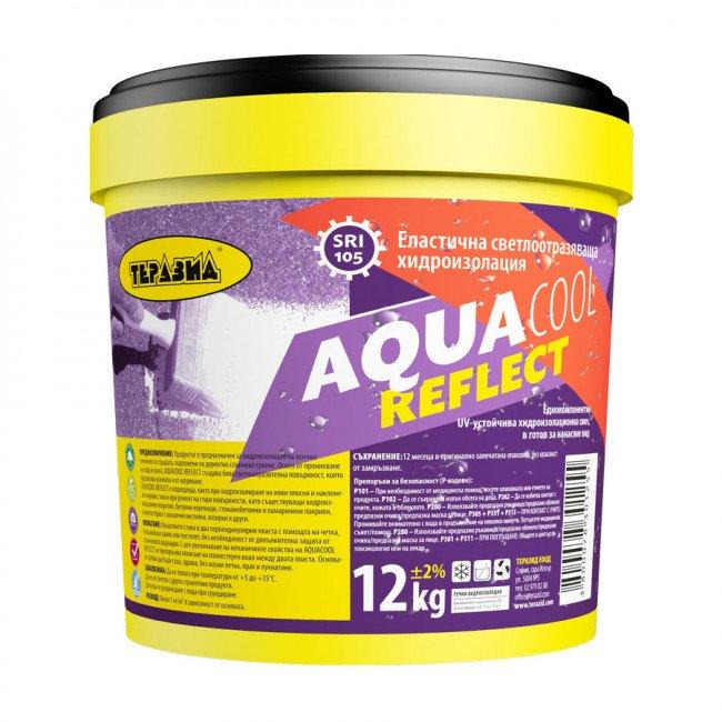 AquaCool Reflect – UV-устойчива светлоотразяваща хидроизолационна смес 12кг.