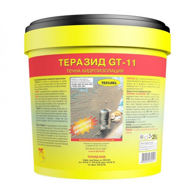 Terazid GT-11 – готова за работа еднокомпонентна хидроизолация 25кг.