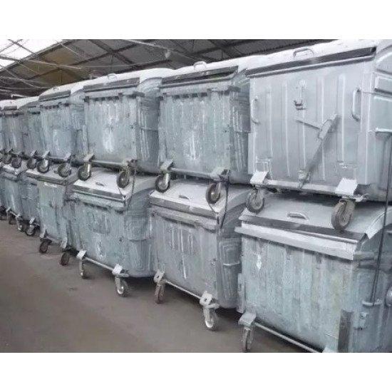 Колела - горещо поцинковани за метален контейнер
