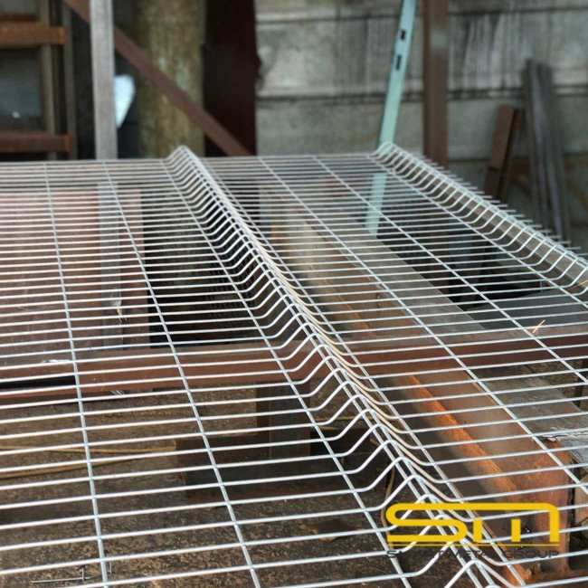 Оградно пано Височина 1.0м.x 2.5м.  (50мм/150мм.) ф4.1мм.