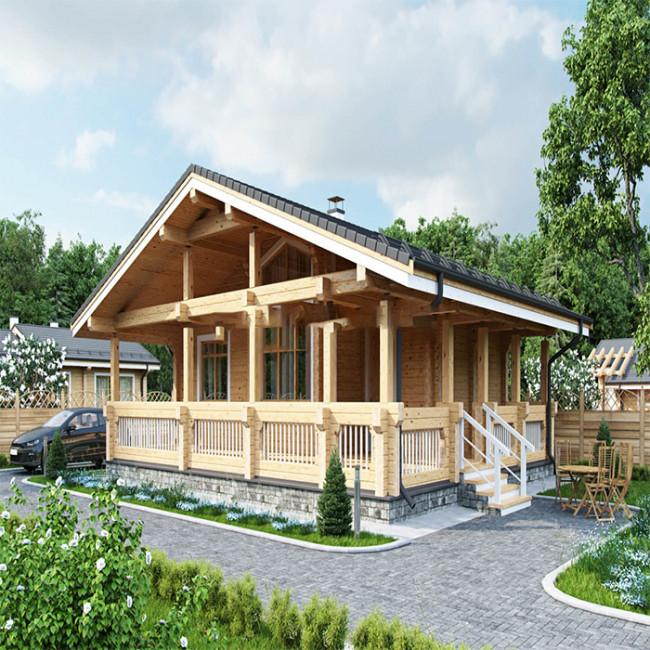 Дървена къща Лексан