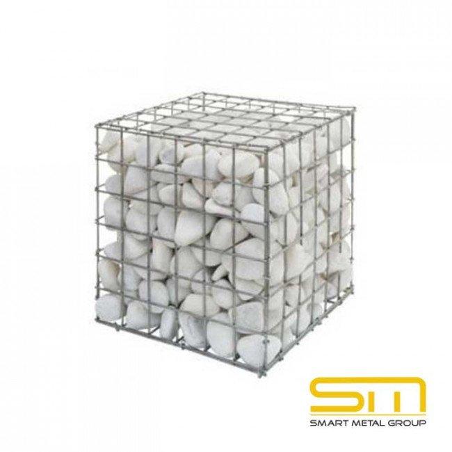 Електрозаварен габион Височина 50см. (Дължина 50см./Ширина 50см.) ф3мм.