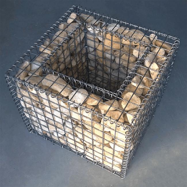 Габион саксия 50x50x50см. ф4мм.